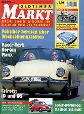 Markt 8/94 1994 Buick Le Sabre Citroën DS ID MGA Rosengart LR 539 DKW F 89 91