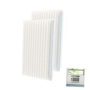 Window Air Conditioner Side Insulated Foam Panel Kit, AC Units Insulation