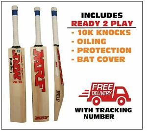 MRF VK 18 LEGEND English Willow Cricket BatSENIOR+AU Stock+$150 Extra(Ready2Play