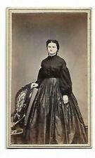 Civil War Era Dress; Photo by J V Cookingham, Jackson, MI (4439)
