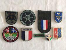 Lot Ecussons Obsolete - Armee Française - RENS - NCC - Opex Afgha + Metal- Lot 4