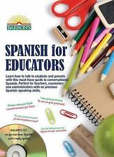 Spanish for Educators : With MP3 CD by William C. Harvey (2015, Paperback,...
