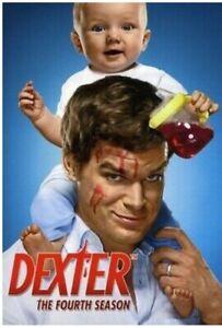 DEXTER The Complete Season 4 DVD 4 Disc Set Region 1 Brand New Sealed Free Post