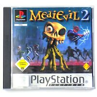 Medievil 2 Sony PlayStation PAL Version Germany Platinum Game