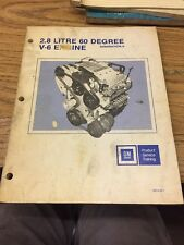 GM Product Service Training 2.8 Liter 60 Degree V-6 Engine