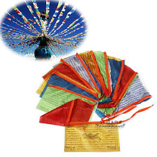 Tibetan Buddhist Prayer Flag 85 Feet Long Buddhism LongDa Auspicious Scriptures