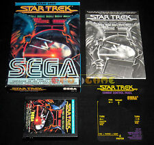 STAR TREK STRATEGIC OPERATIONS SIMULATOR Atari Vcs 2600 Vers Italiana - COMPLETO