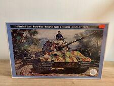 """Nichimo Ejército alemán """"pesados tanque Tiger II"""" (producción Torreta) 1:35 Escala Nuevo Y En Caja"""