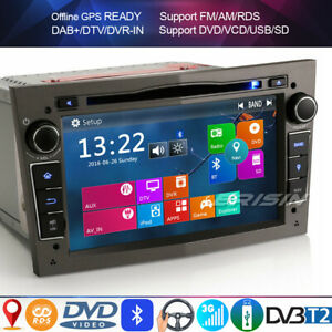 Dab + bluetooth gps dvd autoradio opel corsa c/d zafira b astra h vectra c signum