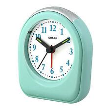 SHARP Quartz Analog Alarm Clock in Mint