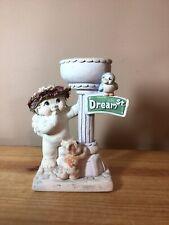 Dreamsicles #10118 'Dream Street' Votive Candle Holder Cherub Figurine