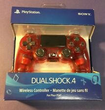 Official Sony PS4 DualShock 4 Wireless Controller [ Crystal RED Edition ] NEW
