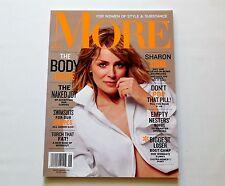 Sharon Stone More Magazine June 2010 New