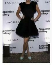 Celebrity Helen Flanagan propiedad & usado Mora Uk8 Negro Vestido De Volantes