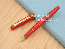 WINGS 3001A super QUALITY modeling plastic new red Fountain Pen