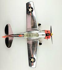 Wen-Mac/Testors Snj3 Control Line Airplane, vintage, Navy, gas-powered