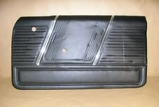 1965 Pontiac 2+2 Driver Side Door Panel Black New