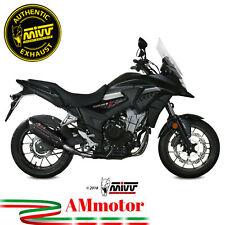 Terminale Di Scarico Honda Cb 500 X 2019 Mivv Suono Black Moto Omologato Nero