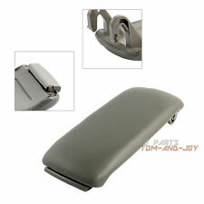 For Audi A4 S4 A6 C5 Gray PU Leather Center Console Armrest Cover Lid NG002