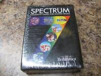 New Encyclopedia Britannica Spectrum 7 Innovative PC Games for Sharper Brains