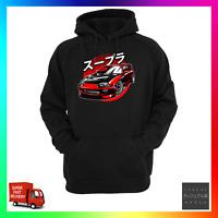 Supra JDM Unofficial Tribute Hoodie Hoody Inspired Turbo 2JZ Drag Racecar Turbo