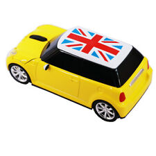 USB Mini cooper Car Wireless Mouse Game optical LED Mice for Laptop PC gift Yell