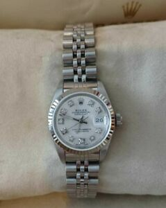 Rolex Datejust 69174 Ladies with Box and Papers 1992