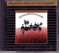 BLOOD SWEAT & TEARS Self Titled 1992 MFSL 24 Karat Gold Oop CD 1969 60s Rock
