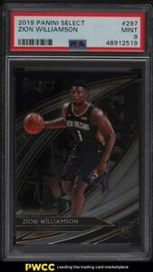 2019 Select Courtside Zion Williamson ROOKIE RC #297 PSA 9 MINT