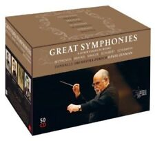 David Zinman Great Symphonies and Other Classical Works [New CD Box Set]