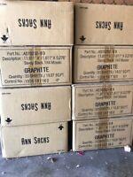 Ann Sacks savoy graphite 1x4 new, in unopened box