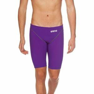 NIB!  Arena Powerskin ST 2.0  Junior Jammer Swimsuit  Purple Size 28