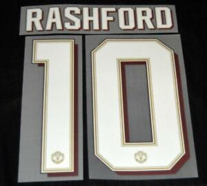 Manchester United 2019/20 Champions league/FA Cup Name/Number Home rashford 10