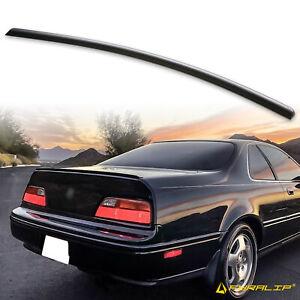 Fyralip Y21 Matte Black Trunk Lip Spoiler For Acura Legend KA8 Coupe 91-95