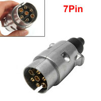 Towing Electrics 7 Pin Plug Adapter Connector 12V Plastic For Car Trailer Carava