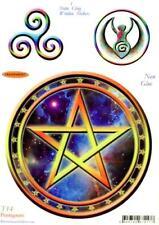 Pentagram Cosmos Static Cling Window Sticker