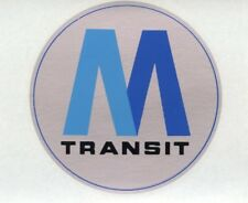 OBSOLETE NEW YORK CITY MTA SUBWAY NOS MTA WINDOW DECAL