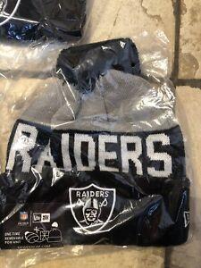 New Era On-Field 18 Raiders Beanie Hat Men Winter hats knit beanie Beanies