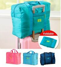 Foldable Travel Cabin Luggage Bag [Blue]