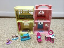 Fisher Price Sweet Streets Pet Shop Hair Salon House Dollhouse Furniture lot 1