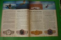 Original Advertising' Rolex Watch Explorer-Gmt Master-Day Date-Submariner
