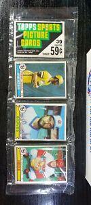 Mint 1979 Topps Baseball Rack Cello Pack NOLAN RYAN all time back OZZIE SMITH RC