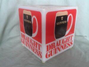 VINTAGE GUINNESS – DRAUGHT GUINNESS – ADVERTISING LAMP