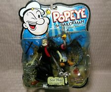 2001 Popeye the Sailor Man Sea Hag Mezco Action Figure