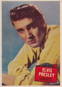 "ELVIS  PRESLEY - 1957 TOPPS "" hit stars ""  RECORDING  stars card"