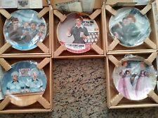 I Love Lucy Collector Plates Lot Of (5) Jim Kritz Official Lucille Ball Hamilton