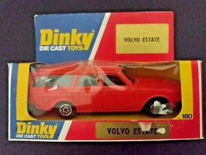 Dinky Volvo 265 DL Estate Car 180 Orange Boxed Vintage Diecast 1979