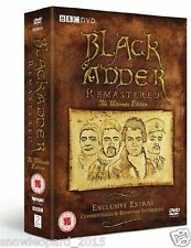 BLACKADDER COMPLETE SERIES 1 2 3 4 + SPECIALS DVD BOX SET COLLECTION BLACK ADDER