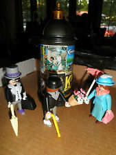 Playmobil Victorian Mansion 5350 ADVERTISING STAND Kiosk SET 5300 dollhouse