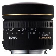 Sigma Mount Lenses for Canon Cameras